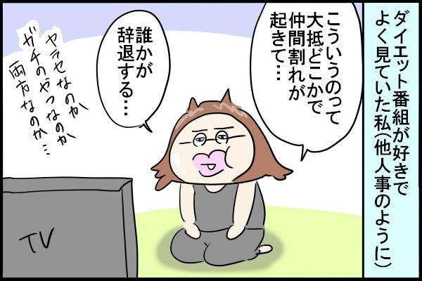 【ダイエット207日目】ダイエットスイッチはどうやって入れる?【漫画】