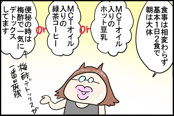 現況報告【ダイエット】